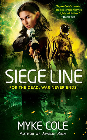 The cover of the book Siege Line