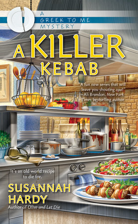 A Killer Kebab by Susannah Hardy