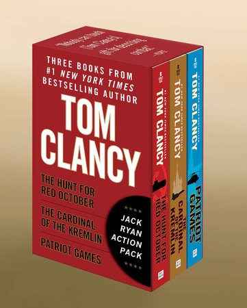 Tom Clancy's Jack Ryan Boxed Set (Books 1-3) by Tom Clancy
