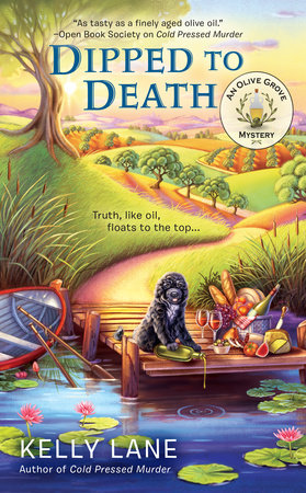 Dipped to Death by Kelly Lane