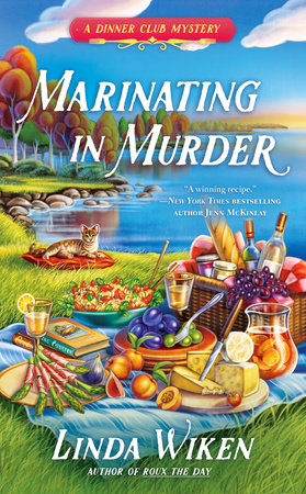 Marinating in Murder by Linda Wiken