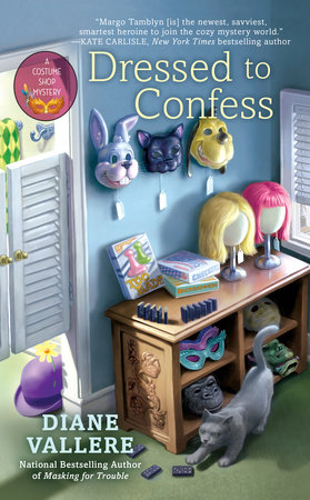 Dressed to Confess by Diane Vallere