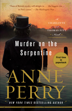 The cover of the book Murder on the Serpentine