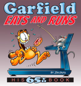 Garfield Eats and Runs