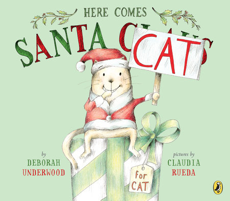 Here Comes Santa Cat Book Cover Picture