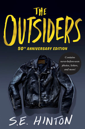 The cover of the book The Outsiders 50th Anniversary Edition