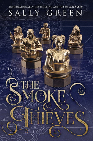 The cover of the book The Smoke Thieves