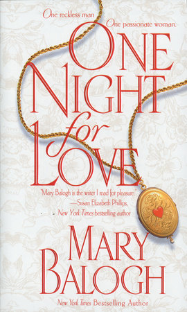One Night for Love by Mary Balogh