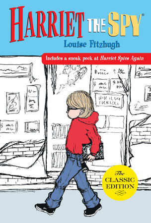 The cover of the book Harriet the Spy