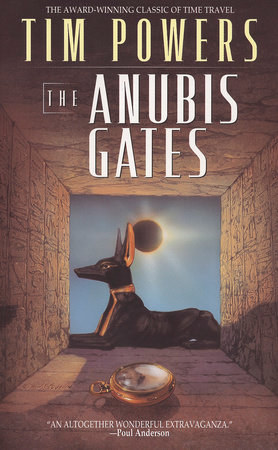 The cover of the book The Anubis Gates