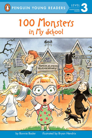 100 Monsters in My School by Bonnie Bader
