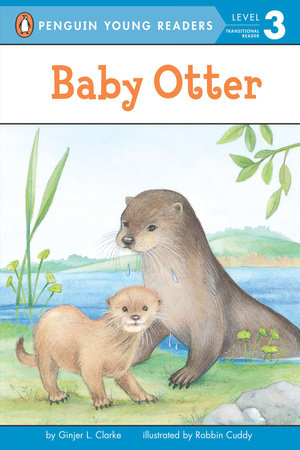 Baby Otter by Ginjer L. Clarke