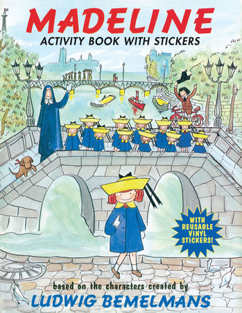 Madeline: Activity Book with Stickers by Ludwig Bemelmans