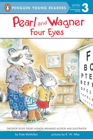 Pearl and Wagner: Four Eyes by Kate McMullan