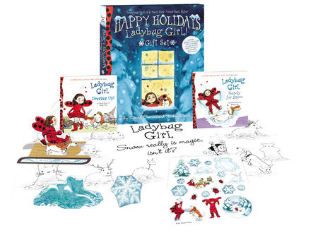 Happy Holidays, Ladybug Girl! Gift Set by David Soman and Jacky Davis