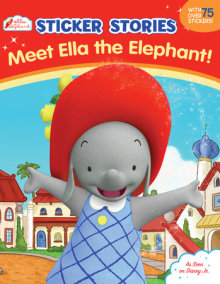 Meet Ella the Elephant! (Sticker Stories)
