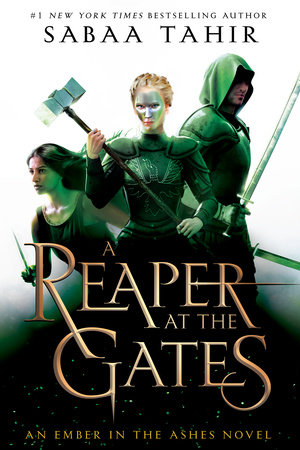 The cover of the book A Reaper at the Gates