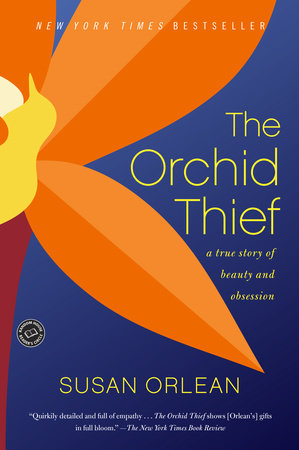 The cover of the book The Orchid Thief