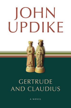 The cover of the book Gertrude and Claudius