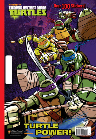 Turtle Power! (Teenage Mutant Ninja Turtles) by Golden Books