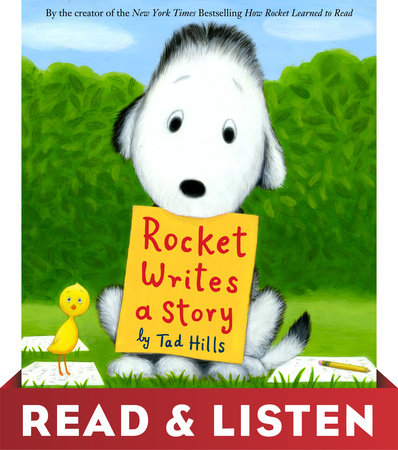 Rocket Writes a Story by Tad Hills