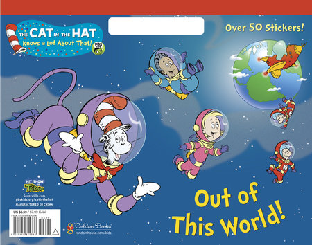 Out of This World! (Dr. Seuss/Cat in the Hat) by Golden Books