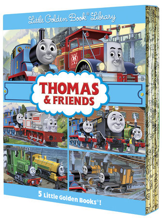 Thomas & Friends Little Golden Book Library (Thomas & Friends) by Rev. W. Awdry
