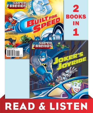 Joker's Joyride/Built for Speed (DC Super Friends) by Dennis R. Shealy