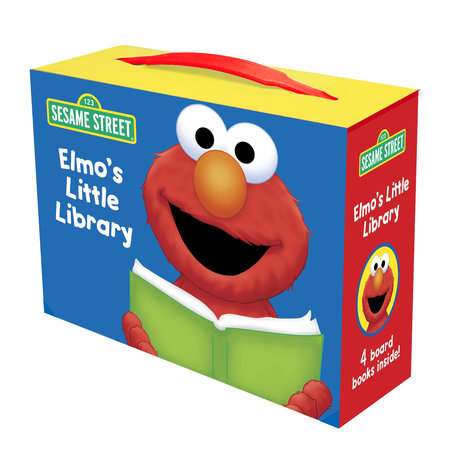 Elmo's Little Library (Sesame Street) by Sarah Albee, Constance Allen and Deborah November