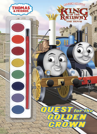 Quest for the Golden Crown (Thomas & Friends) by Rev. W. Awdry