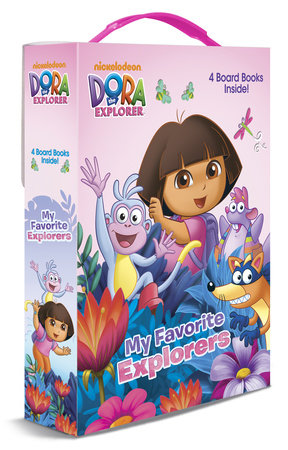 My Favorite Explorers (Dora the Explorer) by Mary Tillworth