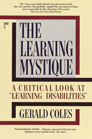 The Learning Mystique by Gerald Coles
