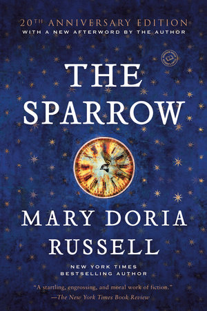 The cover of the book The Sparrow