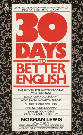 Thirty Days to Better English by Norman Lewis