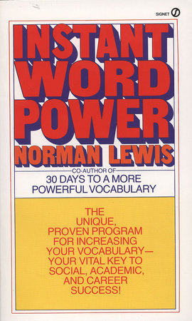 Instant Word Power by Norman Lewis