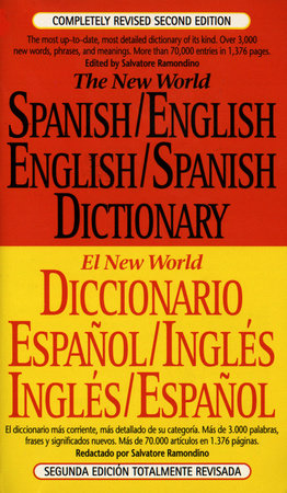 Spanish-English, English-Spanish Dictionary, The New World by