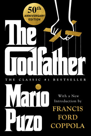 The cover of the book The Godfather