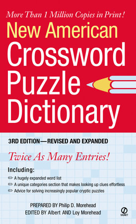 New American Crossword Puzzle Dictionary by Philip D. Morehead