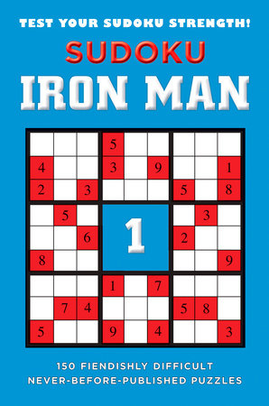 Sudoku Iron Man #1 by Puzzler Media