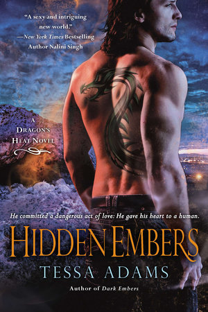 Hidden Embers by Tessa Adams