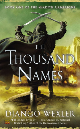 The cover of the book The Thousand Names