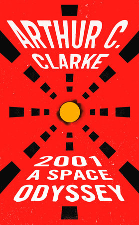 2001: A Space Odyssey Book Cover Picture
