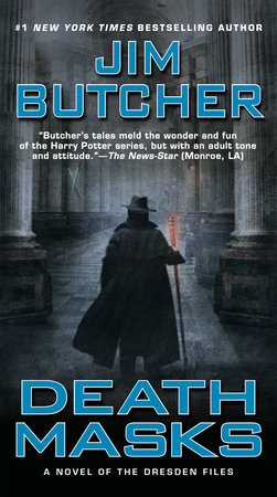 The cover of the book Death Masks