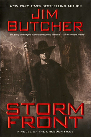 Cover art for the book Storm Front by Jim Butcher