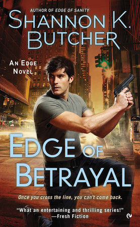 Edge of Betrayal by Shannon K. Butcher