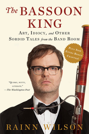 The cover of the book The Bassoon King