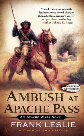 Ambush at Apache Pass by Frank Leslie