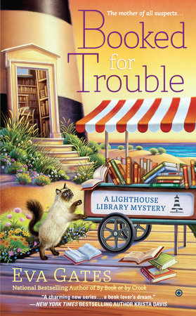Booked for Trouble by Eva Gates