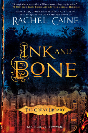 The cover of the book Ink and Bone