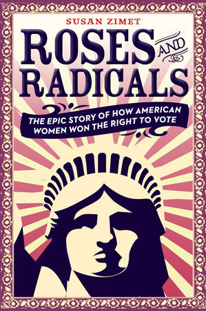 The cover of the book Roses and Radicals